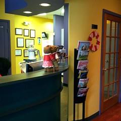 Reception center at Orangetown Smiles