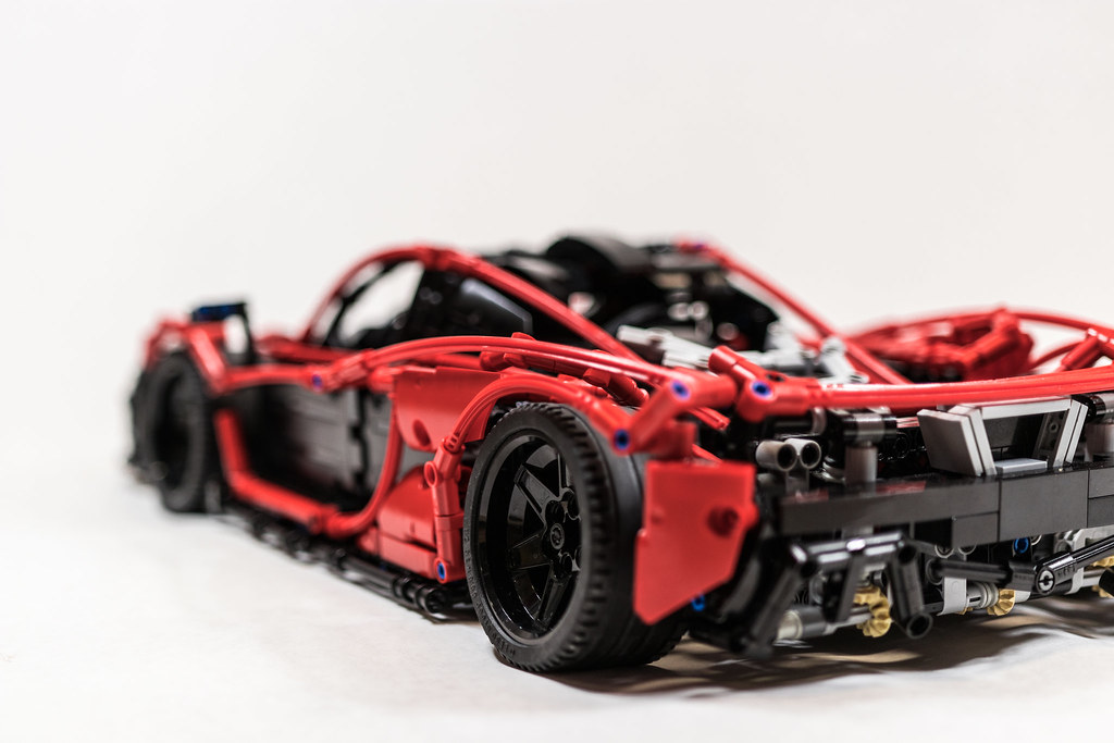 mclaren p1 hypercar moc - lego technic and model team - eurobricks