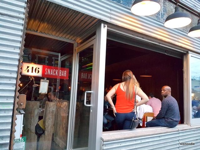 416 Snack Bar storefront