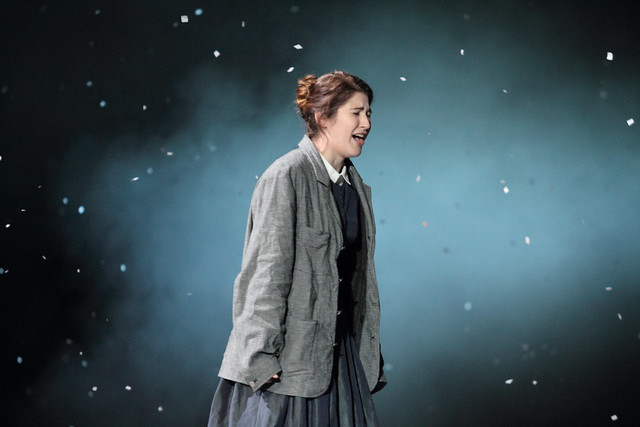 Nicole Car as Mimì in La bohème, The Royal Opera Season 2017/18 © ROH 2017. Photograph by Catherine Ashmore.