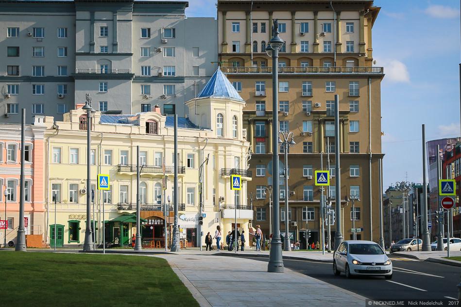 Площадь у Белорусского вокзала просто не узнать! IMG_4278