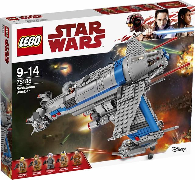 Oficjalne zdjęcia zestawów Lego Star Wars The Last Jedi  17