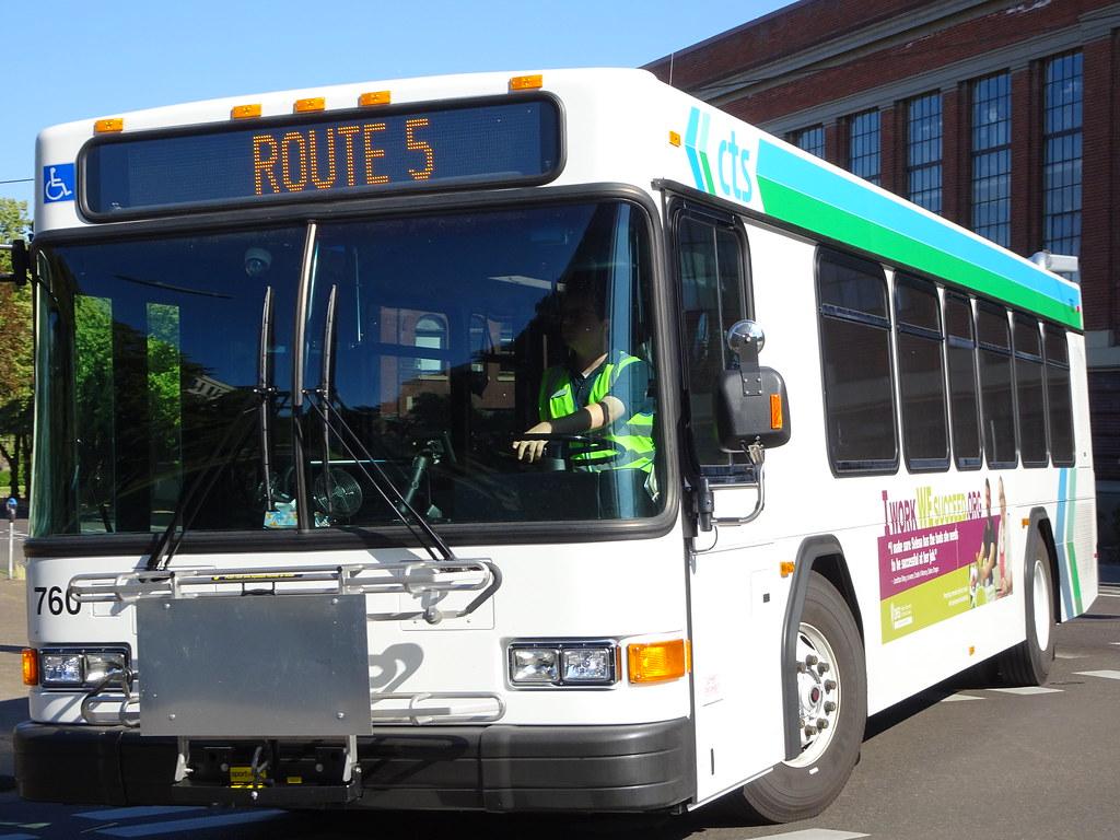 Corvallis Transit System 4 / 4 / 2017 Gillig Low Floor 35' 760