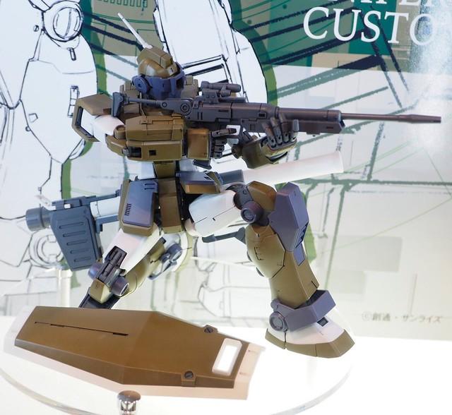 MG 1/100 GM Sniper Custom C3 AFA TOKYO 2017
