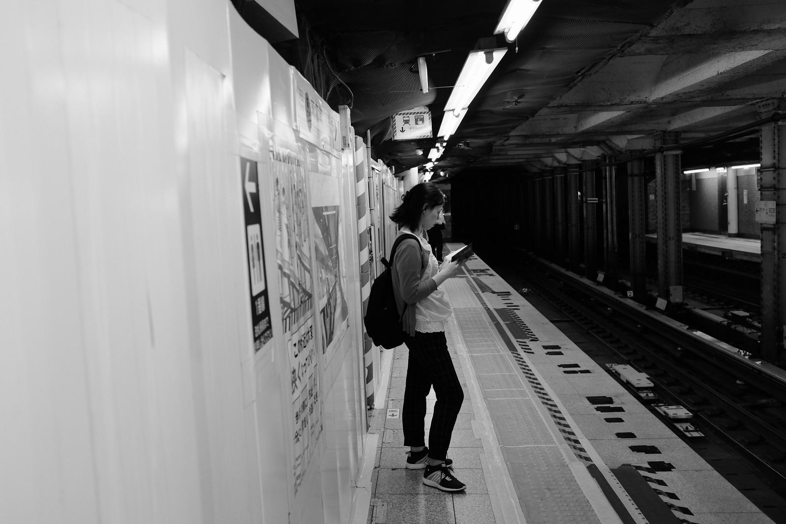 The Suehirocho station taken by FUJIFILM X100S.