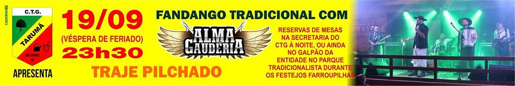 19-09 - Fandango com Alma Gaudéria - CTG Tarumã