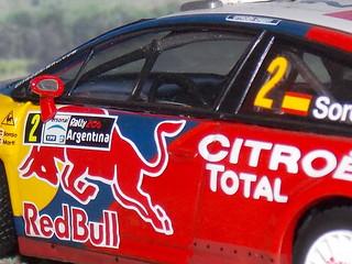 Citroën C4 WRC - Argentina 2008 - IXO