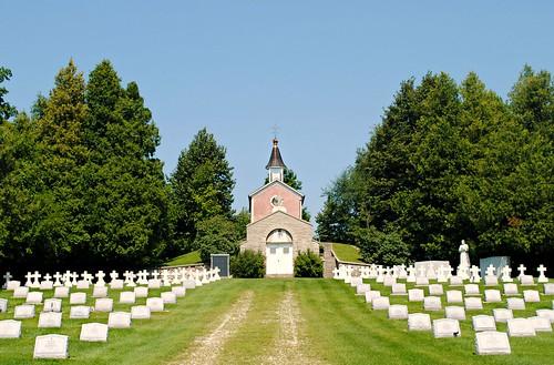Salvatorian Cemetery - St. Nazianz, Wisconsin