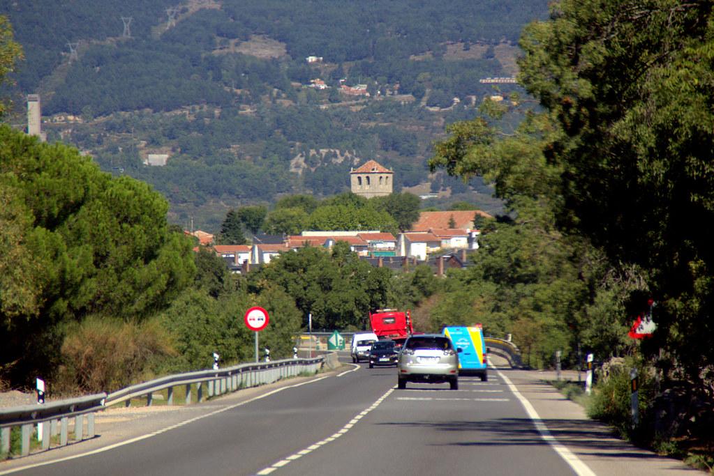 Carretera de Villalba a Guadarrama