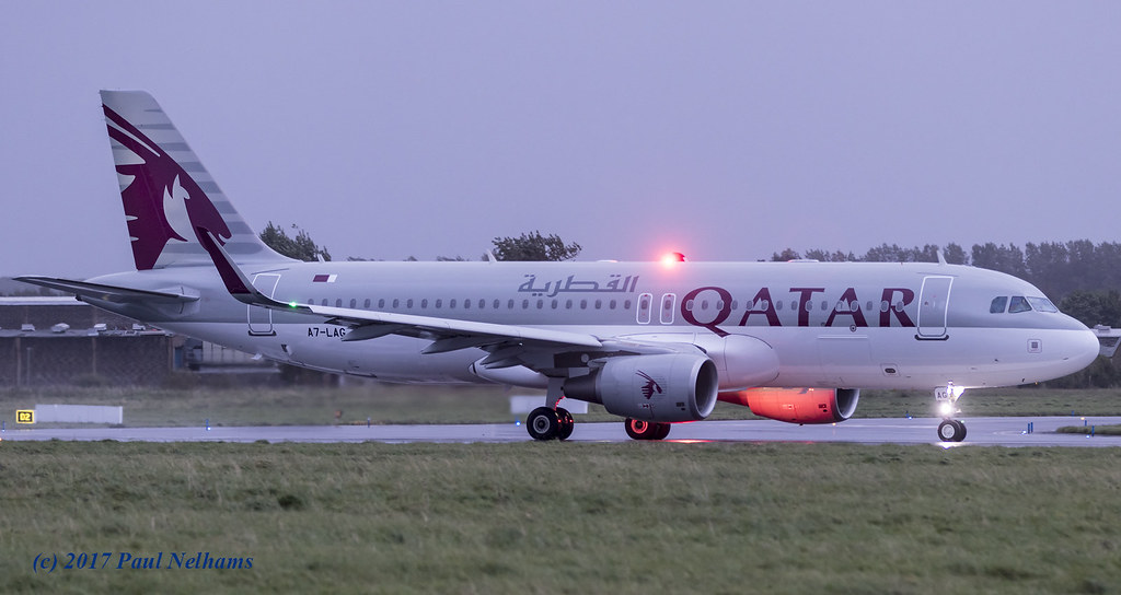 A7-LAG - A320 - Qatar Airways