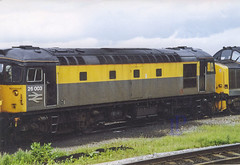 26003 in 'Dutch' Livery at Inverness in 1991