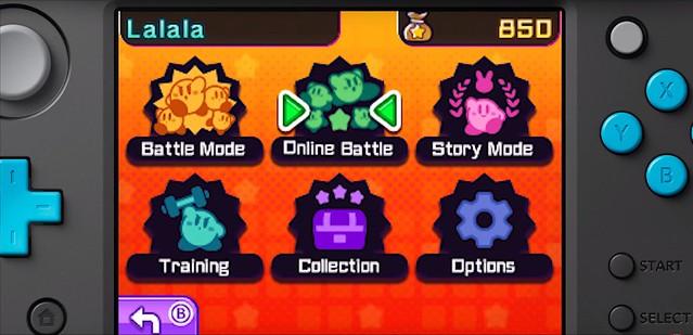 Kirby Battle Royale Modalità di gioco