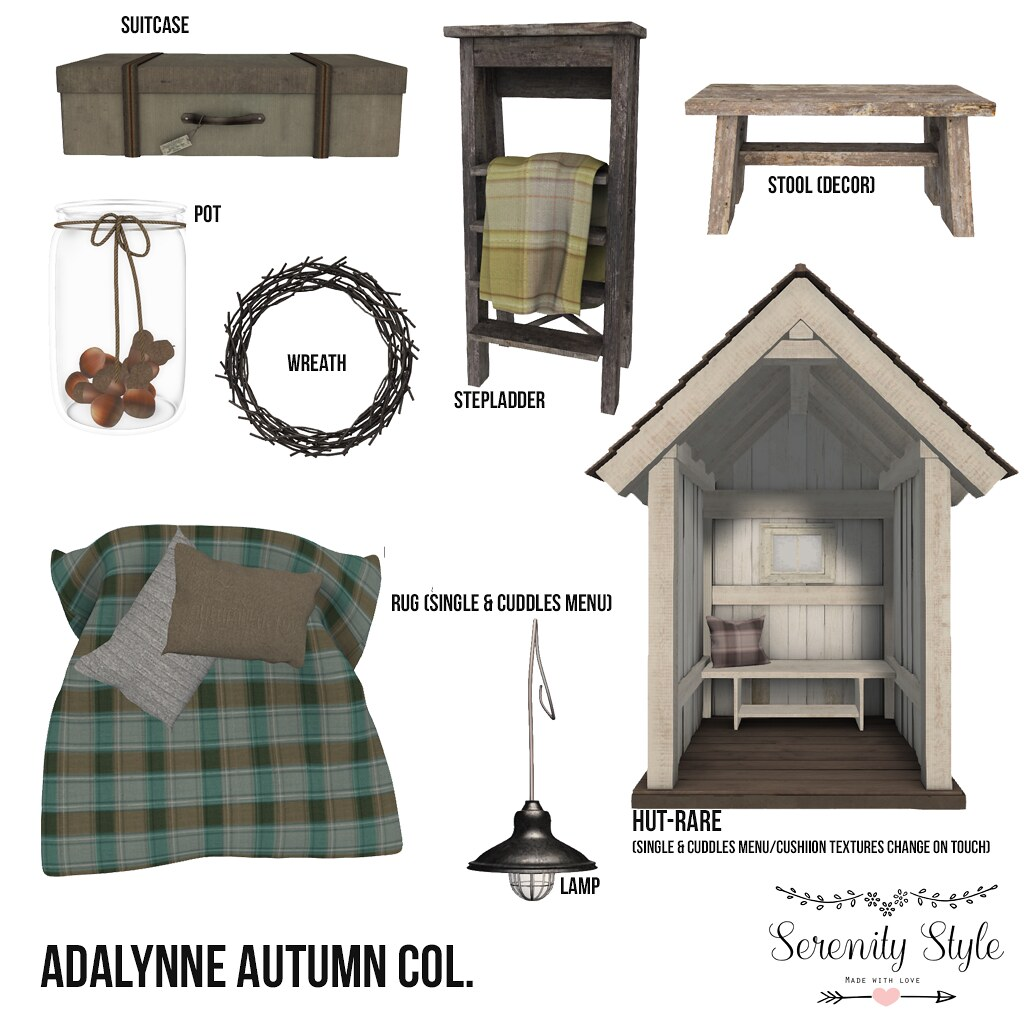 Serenity Style-Adalynne Autumn Col. - TeleportHub.com Live!