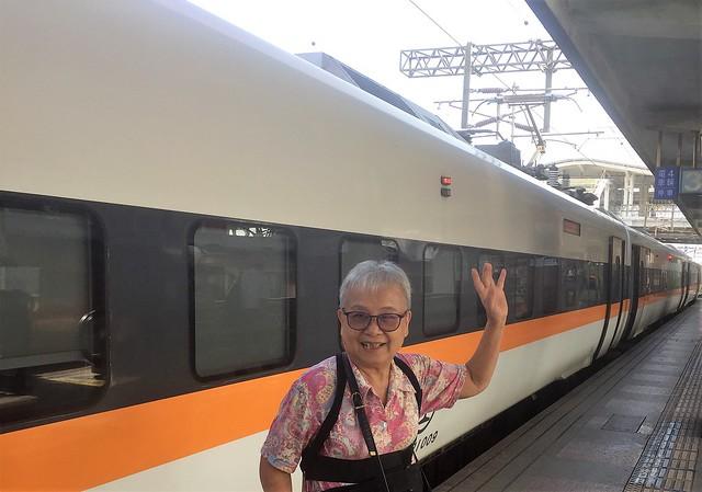 搭乘普悠瑪火車