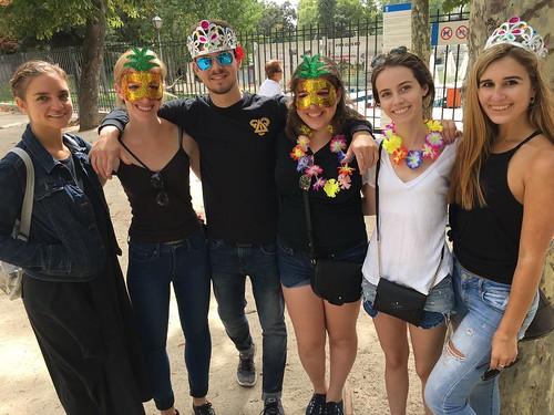 Fall 2017 Madrid Study Group 6 (photo taken by Prof. Fernando Plata)