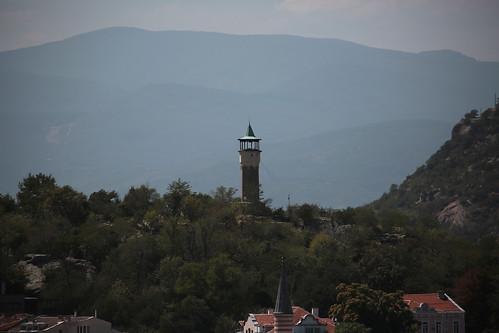 Panorama da una collina cittadina