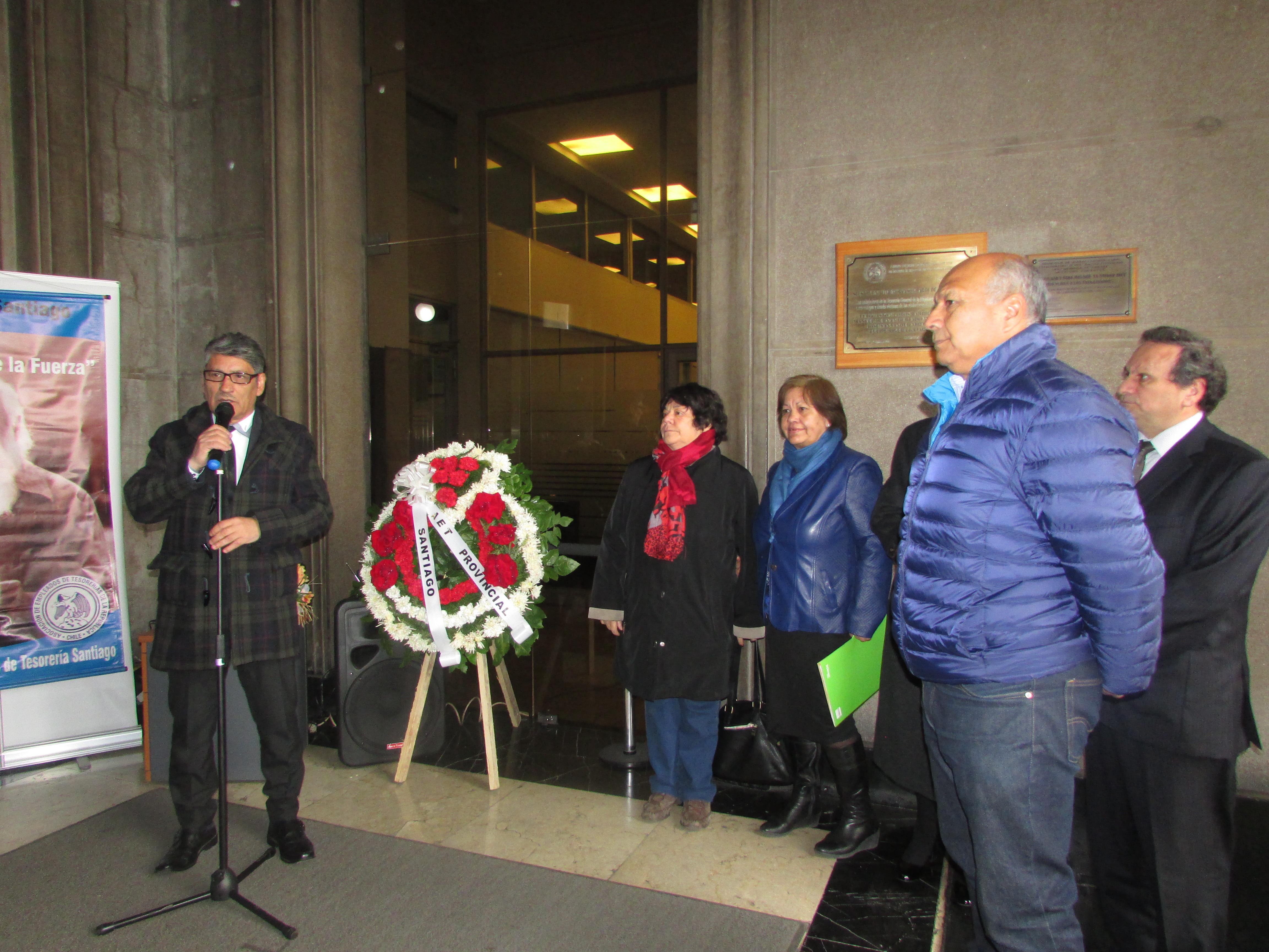 AET Nacional y AET Santiago conmemoran a víctimas del golpe militar - 11 Septiembre 2017
