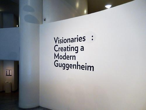 Visionaries: Creating a Modern Guggenheim Exhibition
