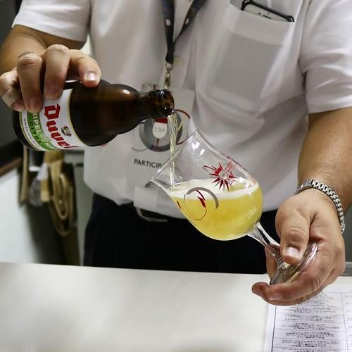 デュベルのトリプルホップ。 #ベルギービールウィークエンド