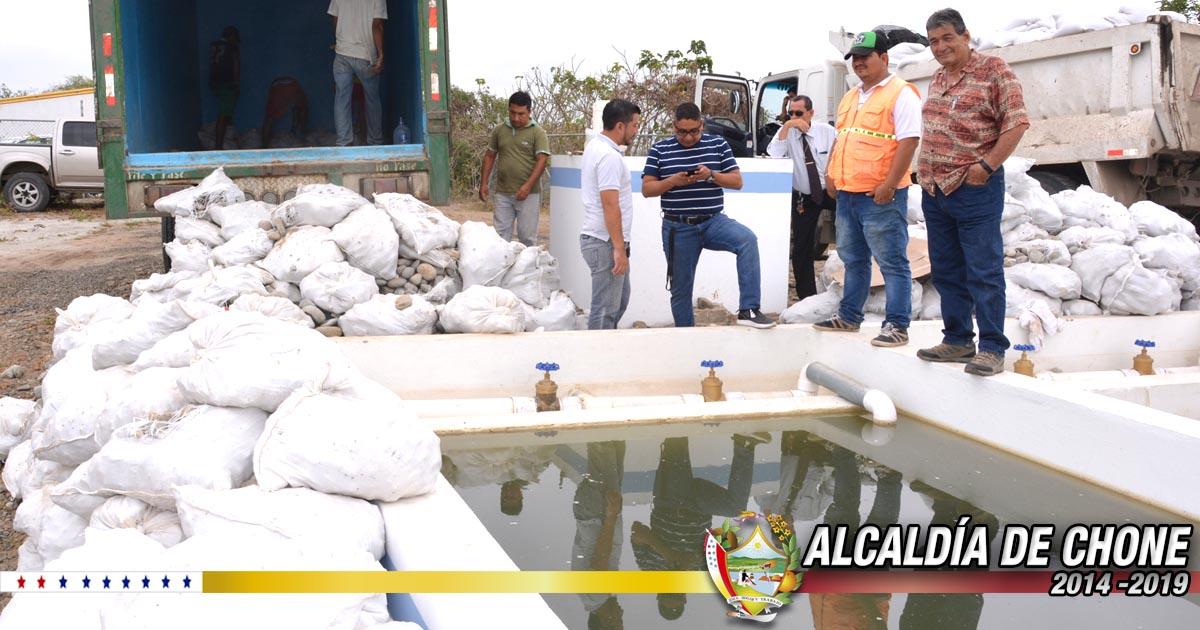 Colocan filtros para purificación del agua potable en planta de San Antonio