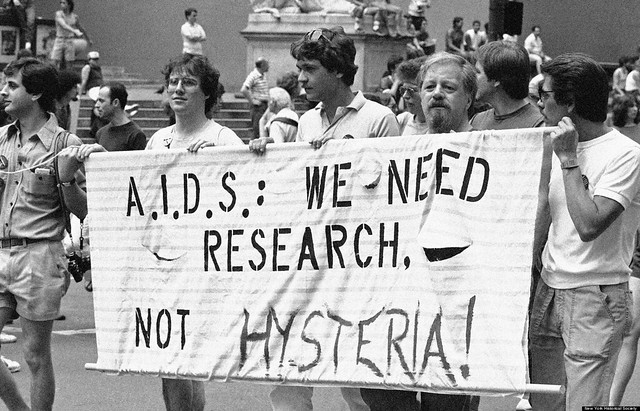 HIV/AIDS march