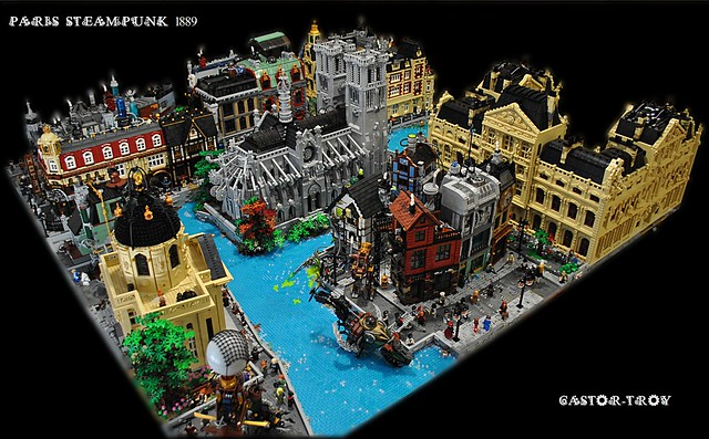 Paris Steampunk 1889 - Brick A Dole