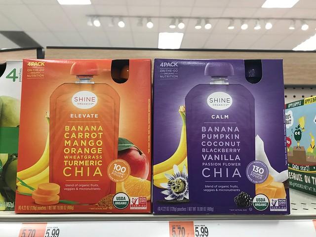 Shine Organics at Target