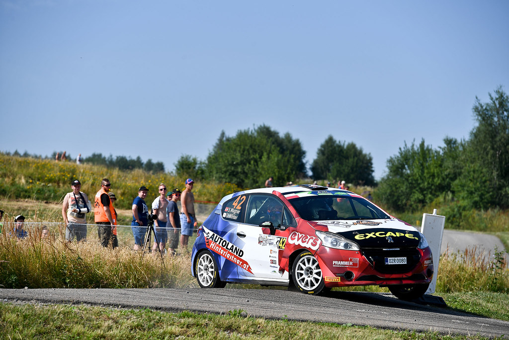 42 WAGNER Simon (AUT) WINTER Gerald (CYP) Peugeot 208 R2 action during the 2017 European Rally Championship Rally Rzeszowski in Poland from August 4 to 6 - Photo Wilfried Marcon / DPPI