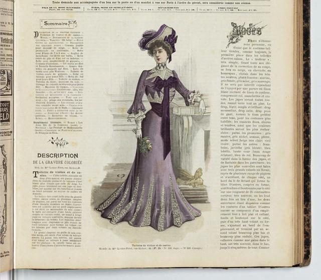 La Mode Illustrée, 1901