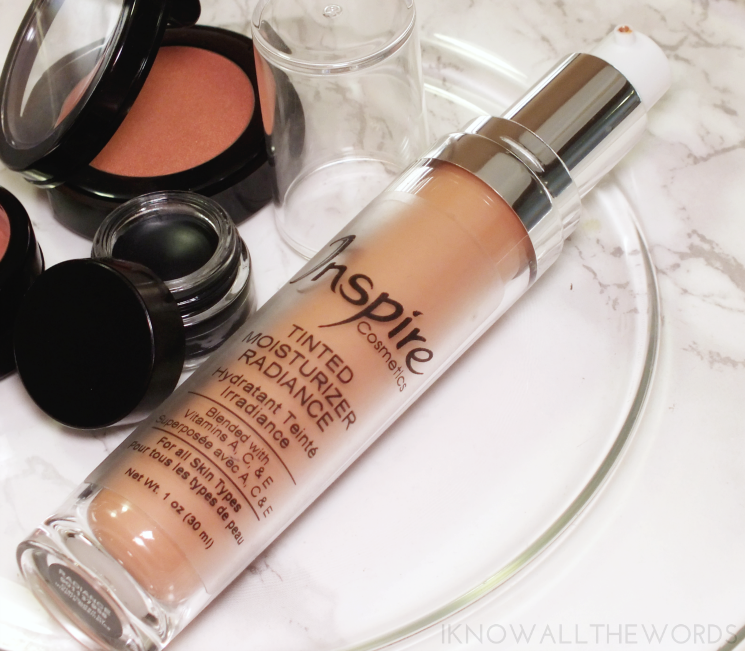 Inspire cosmetics tinted moisturizer