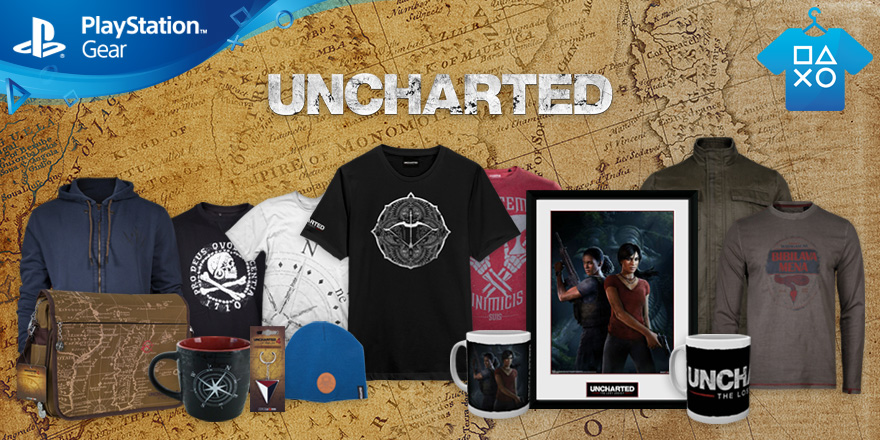 Uncharted: The Lost Legacy Gear