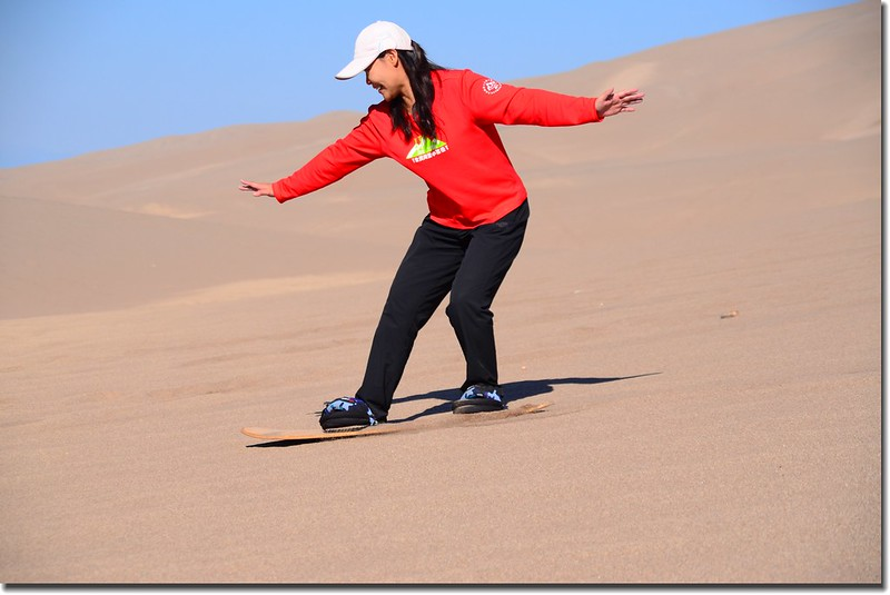 Sledding at Great Sand Dunes  (4)
