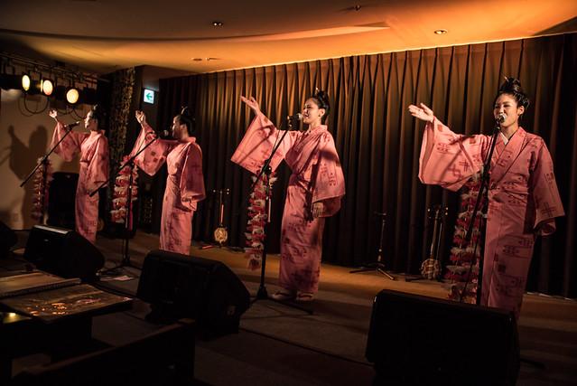 ネーネーズ Nenez live at 島唄, Naha Okinawa, 10 Aug 2017 -00355