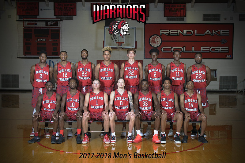 Rend Lake College Men's Basketball 2017-2018