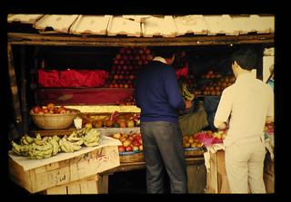 カルカッタ郊外の店