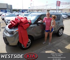 #HappyBirthday to Karen from Jason Taylor at Westside Kia!