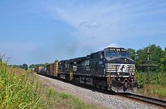 2017 08-21 1343 NS C40-9W-9064 S/B 35Q Shenandoah Junction, WV