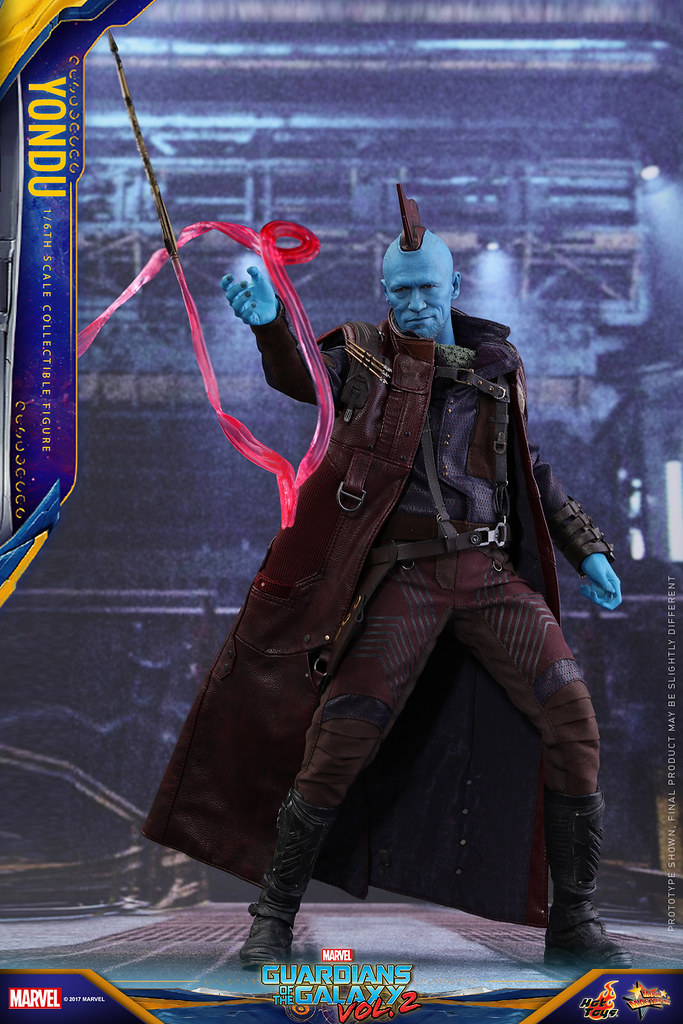 Hot Toys - MMS435 - 《星際異攻隊2》1/6 比例【勇度】Guardians of the Galaxy Vol.2 Yondu
