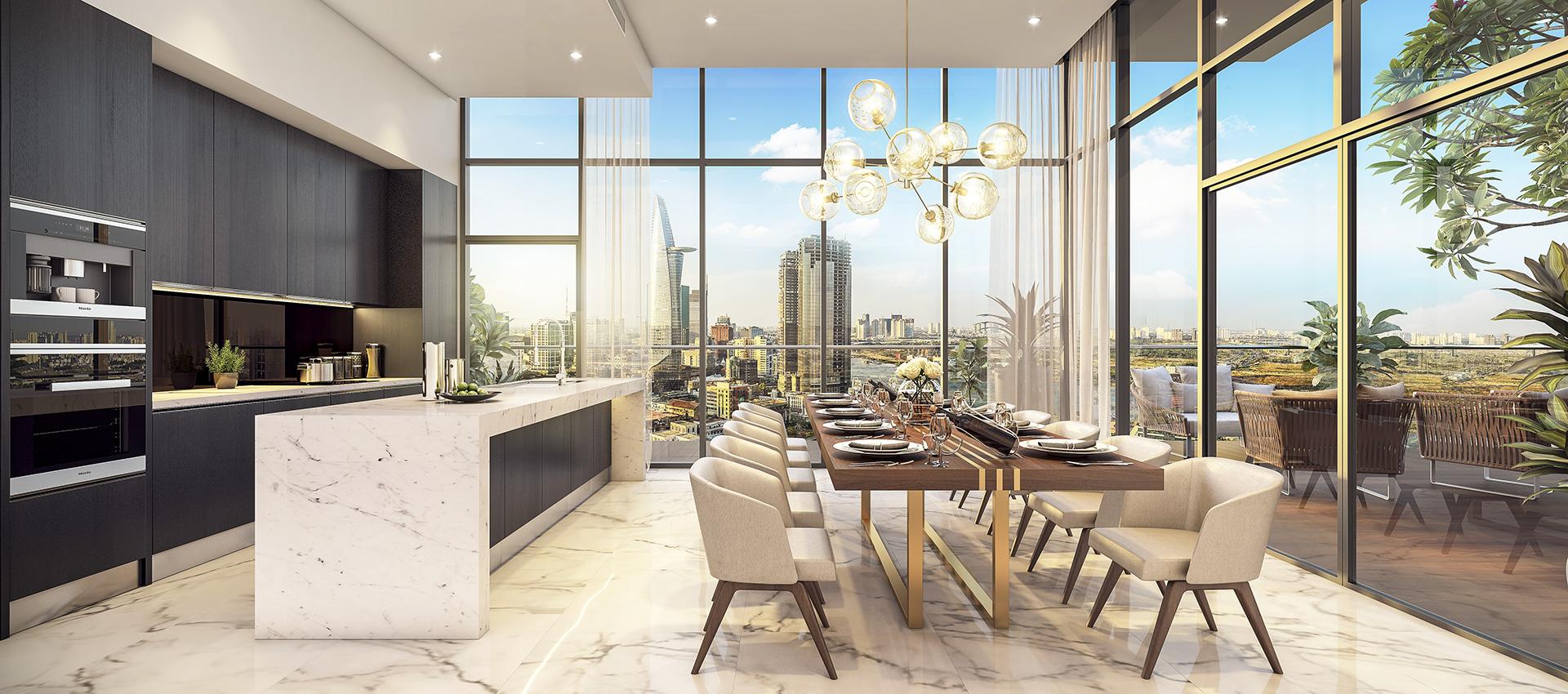 penthouse du an millennium