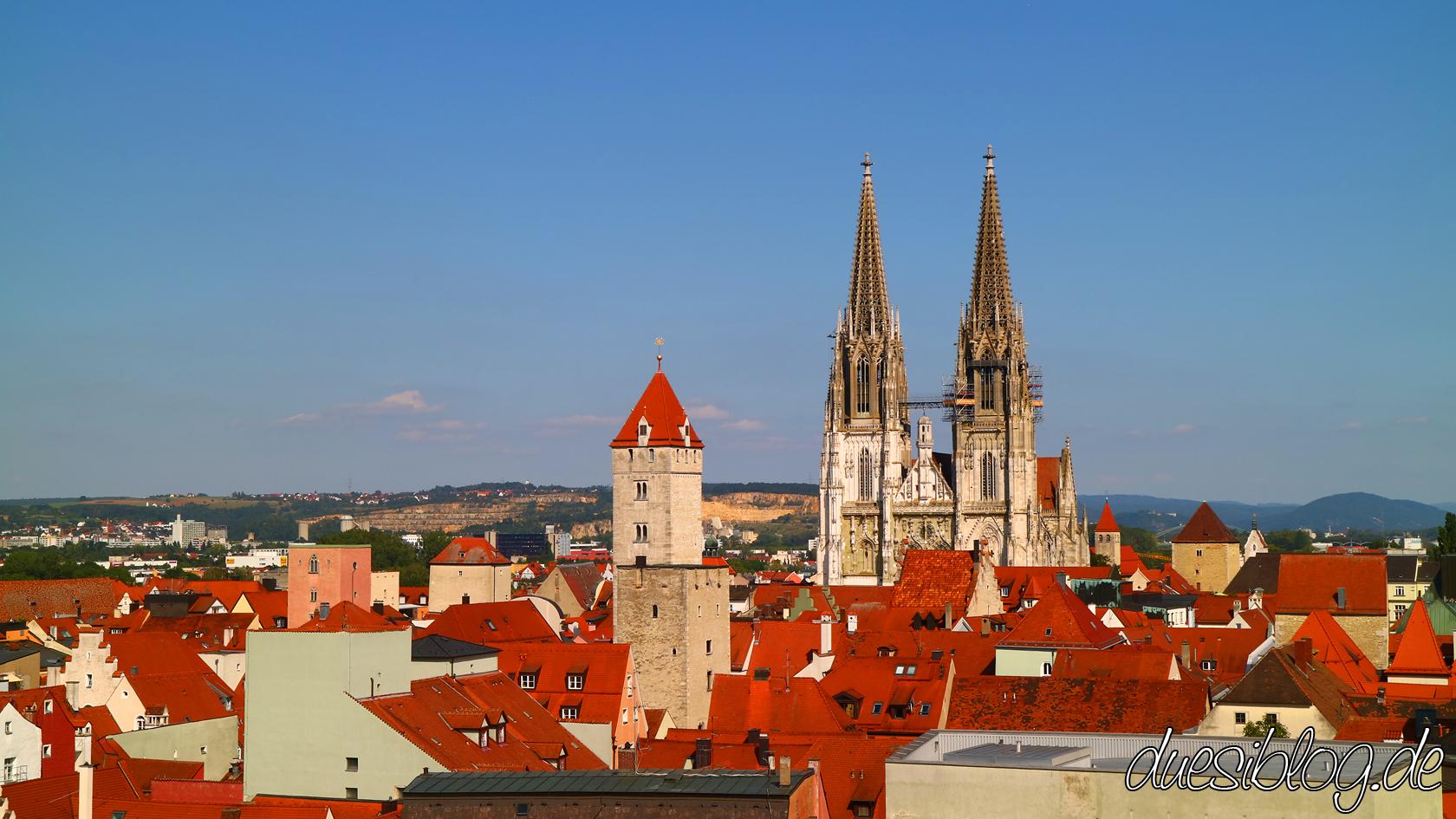 Regensburg von oben Travelblog duesiblog 32