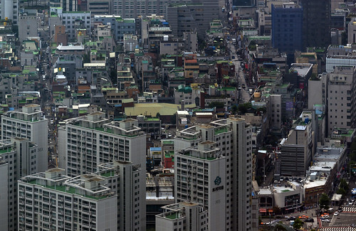 Seoul from room 9499 | by Willem van den Hoed