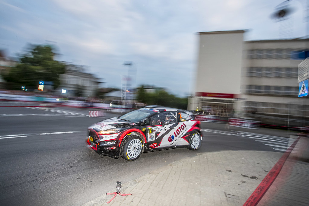 02 KAJETANOWICZ Kajetan (POL) BARAN Jarosław (POL) Ford Fiesta R5 action during the 2017 European Rally Championship Rally Rzeszow in Poland from August 3 to 5 - Photo Gregory Lenormand / DPPI