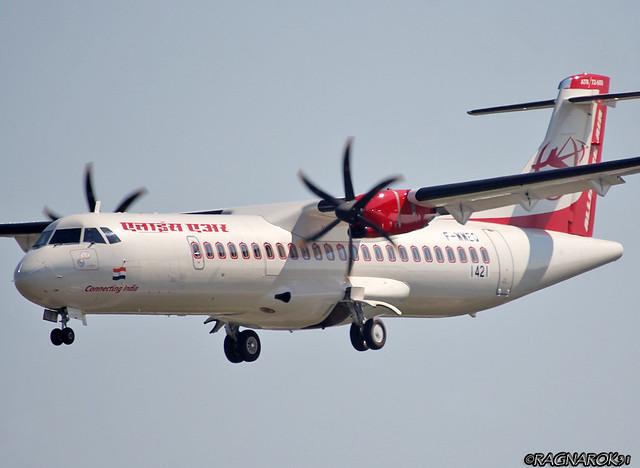ATR72-600 AllianceAir F-WWEQ-001 cn1421, Canon EOS 60D, Sigma 50-500mm f/4-6.3 APO HSM EX