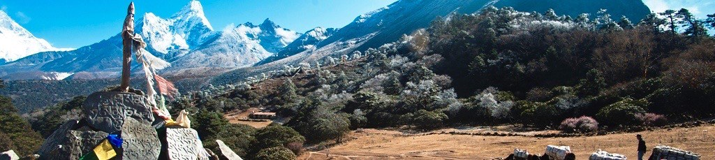 Nepal, Komfort-Trekking Everest-Gebiet. Boudanath Stupa in Kathmandu. Foto: Christine Theodorovics.