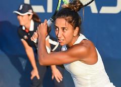 2017 US Open Tennis - Qualifying Rounds -  Naomi Broady (GBR) [18] def. Cagla Buyukakcay (TUR)