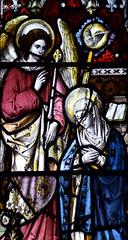 Annunciation (Ward & Hughes, 1891)