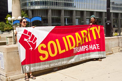Solidarity with Charlottesville Vigil Chicago 8-13-17 2964