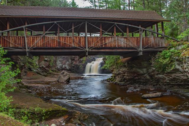 Upper Amnicon Falls Horton Bridge
