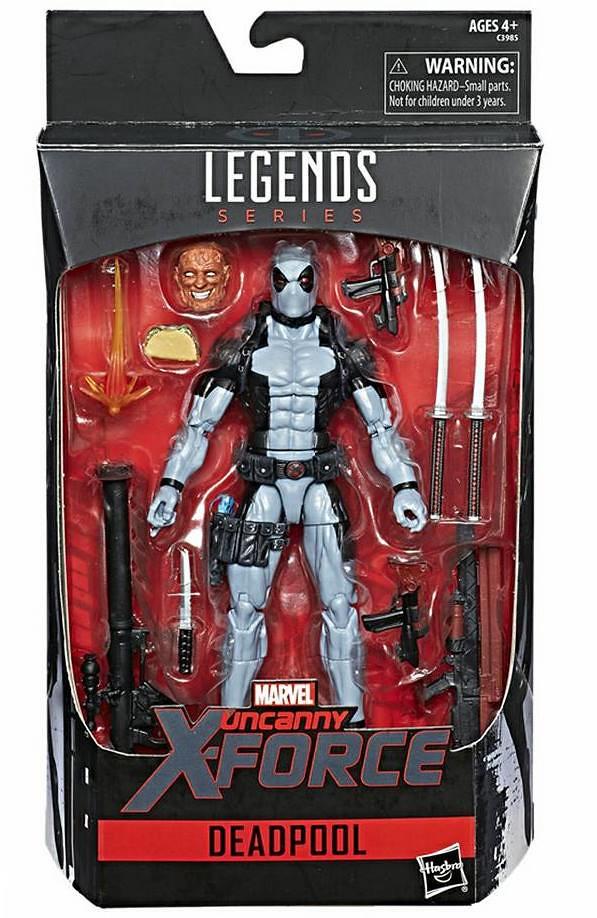 孩之寶Hascon限定 - Marvel Legends X-Force 死侍 Deadpool