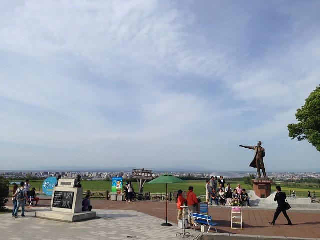 hokkaido-sapporo-hitsujigaoka-observation-hill-clark-statue-01